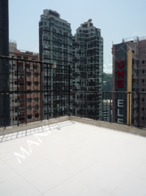 Unique Terrace & Rooftop Apt in Sai Ying Pun   - Sai Ying Pun