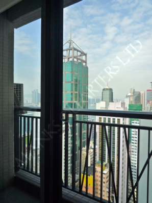 Modern Pad with 2 Balconies in Sai Ying Pun